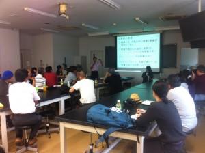 キヌア栽培イベント講座