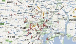 東京のキヌア取り扱い飲食店