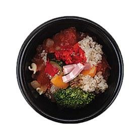 キヌアとグリル野菜のトマトスープ