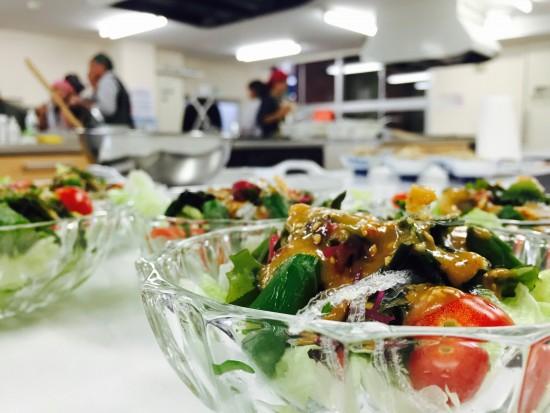 キヌア料理教室