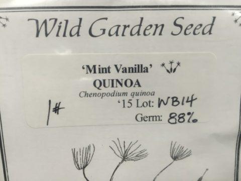 おそらくこれが史上最も自由なキヌア種子